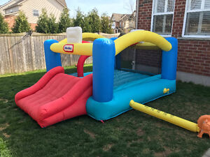 Little Tykes Sports and Slide Bouncer