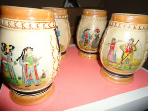 SET of Vintage Steins       COLLECTABLE London Ontario image 2