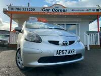 2007 Toyota AYGO VVT-I + used cars Rochdale, Greater Manchester Hatchback Petrol