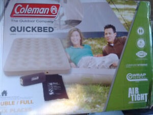 Two Coleman Quickbed air mattresses for sale - like new