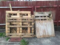 Free pallets /wood