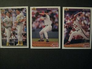 BASEBALL.10- cartes.UPPER DECK/ DIAMOND SKILLS. 1992