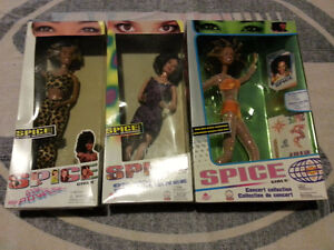 Spice Girl Dolls - Three, One Unopened