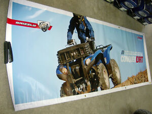 2016 YAMAHA GRIZZLY PROMOTIONAL BANNER