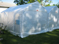 TWO 10'x16' Storage Shelters