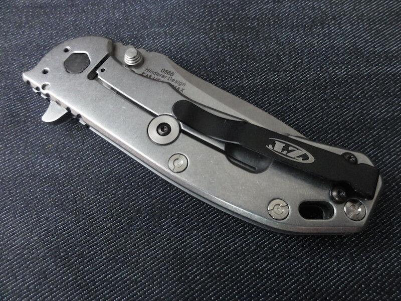 New Custom Titanium Standoffs for ZT0566 Zero Tolerance ZT 566 ZT566