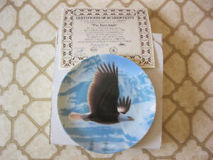 The Majestic Birds Collection – 2 plates (new)
