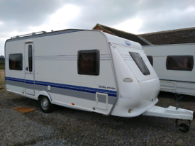 bfdd028c06 Hobby prestige 495 2008 4 berth caravan