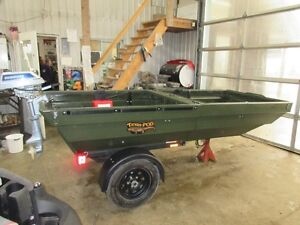 ATV Trailer that flips into a BOAT - TETRA-POD. Kitchener / Waterloo Kitchener Area image 1