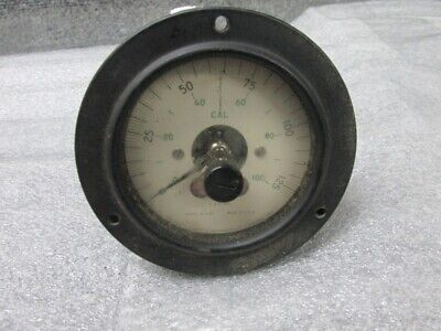 Vintage Hickok Electrical Instrument Co Gauge Model 46-250 Steam Punk