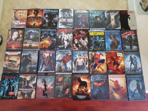 DVD's, Music CDS, PC Games