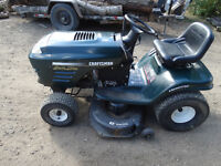 CRAFTSMAN SPECIAL EDITION 19.5HP TURBO COOLED LAWN TRACTOR
