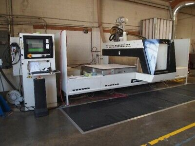 2003 Scm 4 X 10 Routech Record 125 Cnc Router Woodworking Machinery