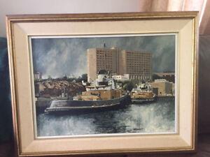 Tug Boat Painting