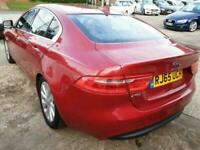 2015 Jaguar XE 2.0d Prestige 4dr (FULL LEATHER+SAT NAV) Saloon Diesel Manual