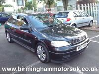 2001 Vauxhall Astra 2.2 i 16v SRi 3dr