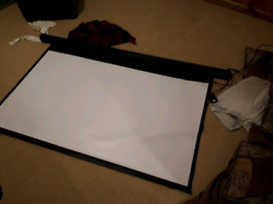 Automatic Projector Screen