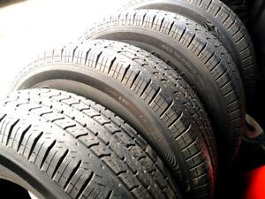 4 pneus d'été UNIROYAL  235/75R16