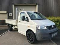 (53) 2004 Volkswagen Transporter T30 104 TDI LWB Dropside Pick Up No VAT