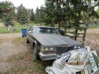 84 Cadillac Seville for sale or parts