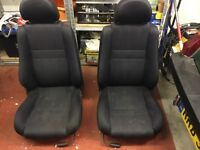 MG TF seats