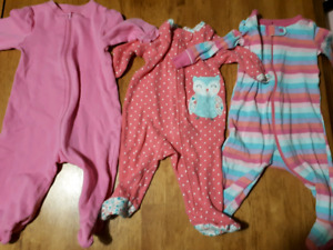 3-6 month baby girl lot. 25 items.