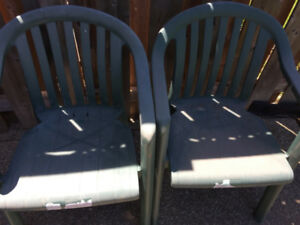 8 Patio Chairs – commercial grade