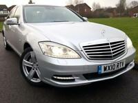 Mercedes-Benz S350 3.0CDI Blue F 7G-Tronic + DIESEL + LIMO + PAN ROOF TV