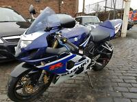 Suzuki GSXR750 K5 PX Swap UK Delivery 12 months mot