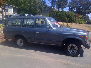 1985 Toyota Landcruiser (B-3 Diesel Engine, 4X4, Manual, 5-speed