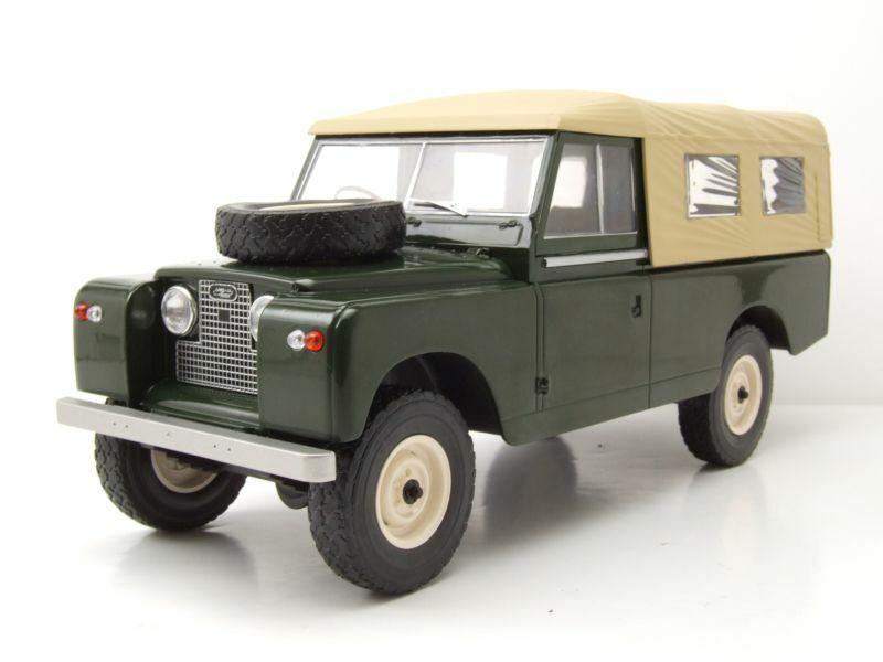 Land Rover 109 Pick Up Series II RHD 1959 dunkelgrün beige Modellauto 118 MCG