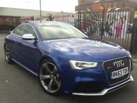 AUDI RS5 4.2 FSI S TRONIC QUATTRO 2013/63 FACELIFT **SEPANG BLUE **ULTIMATE SPEC