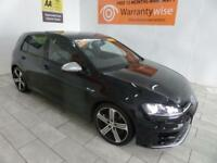 BLACK VOLKSWAGEN GOLF R 2.0 DSG AUTO 298 BHP ***from £412 per month***