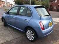 Nissan Micra 1.2 25 (blue) 2008