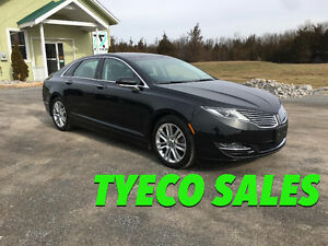 2014 Lincoln MKZ AWD 3.7L ONLY 7300KM!! NAVI SUNROOF