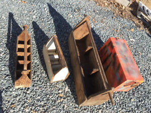 Antique tool boxes for sale