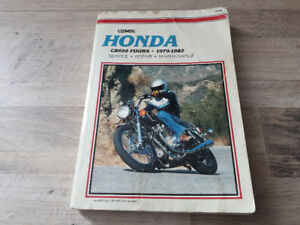 Clymer Repair Manual - Honda CB 650 Fours 1979-1982