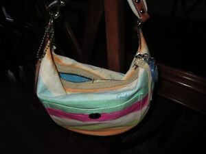 Coach Multi-Colour Small Hobo Handbag