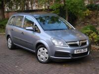 EXCELLENT 7 SEATER!! 2006 VAUXHALL ZAFIRA 1.6 16V LIFE, LONG MOT, AA WARRANTY