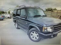 Land Rover discovery pursuit td5 2004 ..7 seater
