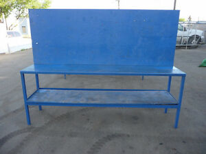 Shop metal work benches