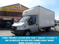 2011 11 FORD TRANSIT 350 LWB 2.4 350 DRW 1D 115 BHP LWB TWIN REAR WHEEL LUTON BO