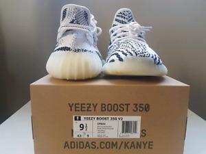 Brand New adidas Yeezy Boost 350 V2 Zebra size 9. 5