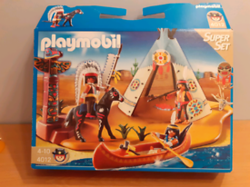 Playmobil 4012 native American camp