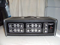 Traynor head and 2 speaker cabinets