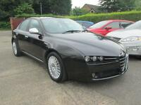 2008 Alfa Romeo 159 1.9 JTD 16v 150 Lusso 6 Speed Black