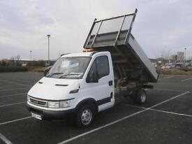 2006 55 IVECO DAILY 35 C12 2.3 HPI TURBO DIESEL MWB TIPPER TRUCK PICK UP TRANSIT
