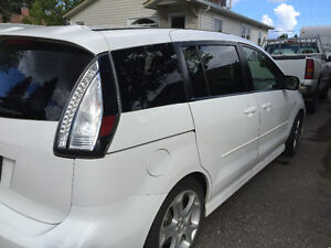 2008 Mazda Mazda5 GT Sport (with winter tires!) Prince George British Columbia image 8
