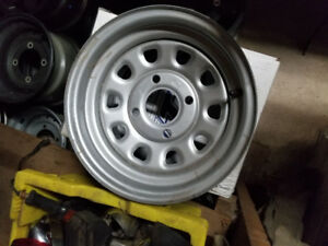 "Brand new set of ITP wheels 12"" 4x100"