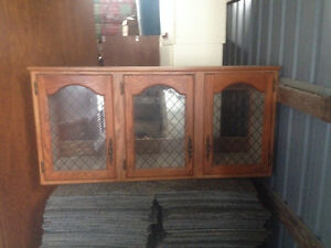 GLASS CABINET AND TOWER